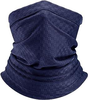Adjustable Neck Warmer Gaiter Men Snood Loop Face Scarf Multifunctional Bandana Headband Headwear Neckwear Anti Dust UV Fa...