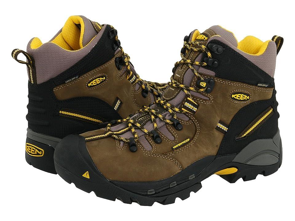 Keen Utility Pittsburgh Boot (Slate Black/Grey) Men's Work Boots