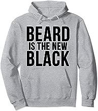 Beard Is The New Black Bearded Man  Pullover Hoodie