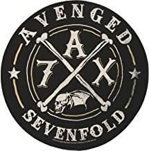 XLG Avenged Sevenfold A7X Back Patch Band Logo Metal Fan Jacket Sew On Applique