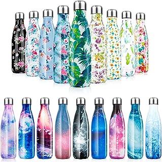 Botella de Agua de acero inoxidable sin BPA-500/750/1000 ml