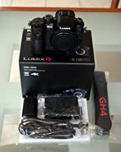 Panasonic LUMIX GH4 DMC-GH4GC-K 16.05MP Digital Single Lens Mirrorless Camera with 4K Cinematic Video (Body only) - International Version