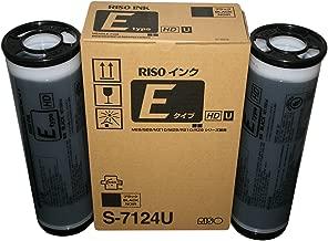 Riso S-6870 / S-7124 F Type HD Black Ink, Box of 2