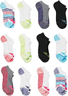 girls Cool Comfort No Show Socks (12 Pack)