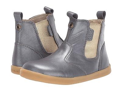 Bobux Kids I-Walk Jodhpur Boot (Toddler) (Charcoal Shimmer) Girl