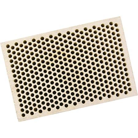 Honeycomb Ceramic Block Square w// 374 Holes 2 mm Diameter 2 x 3 x 1//2 Jewelry Soldering Tool