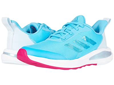 adidas Kids FortaRun (Little Kid/Big Kid) (Signal Cyan/Shock Pink/Footwear White) Girls Shoes