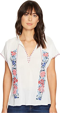 Julissa Embroidered Top