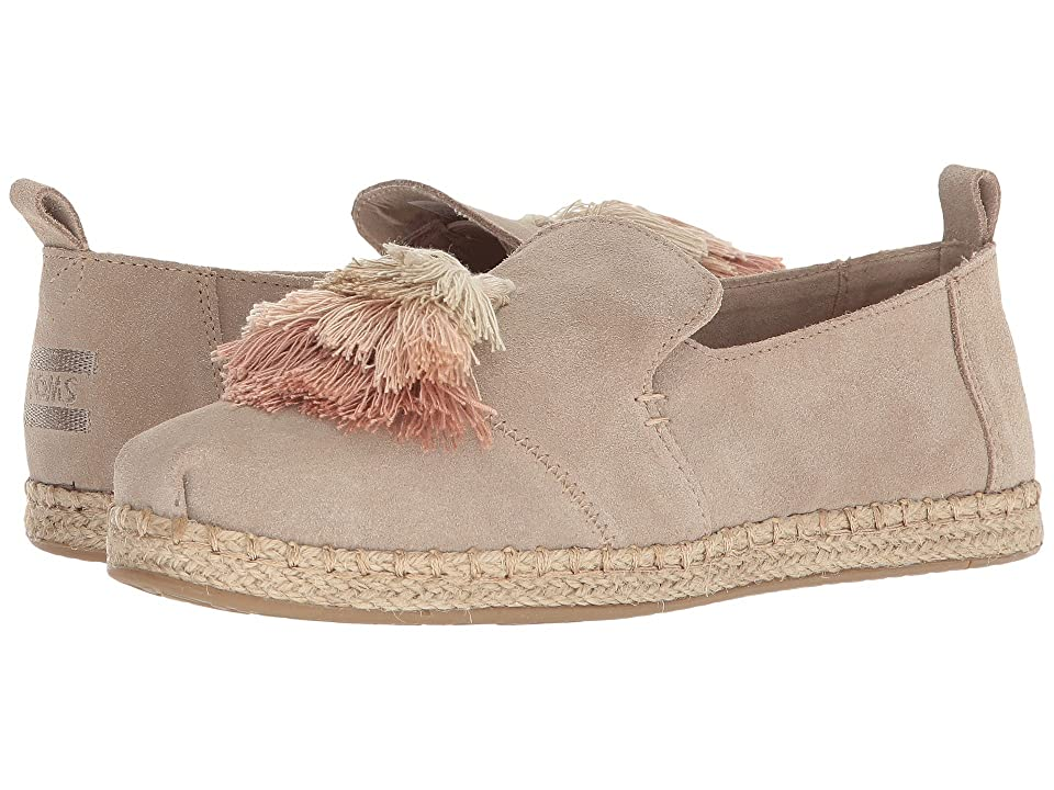 TOMS Deconstructed Alpargata Rope (Oxford Tan Suede) Women