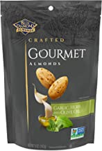 Blue Diamond Almonds Gourmet Garlic, Herb and Olive Oil , 5 Ounces
