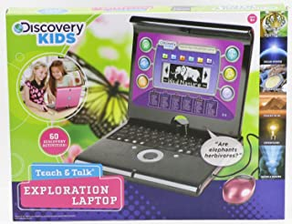 Discovery Battery Operated Portable Teach & Talk Laptop 14