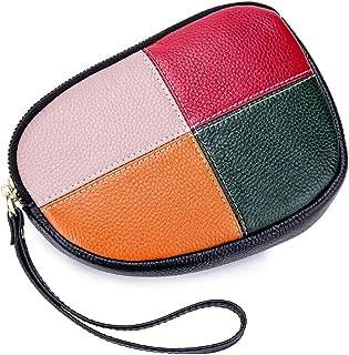 imeetu Women Wristlet Wallet Leather Crossbody Bag