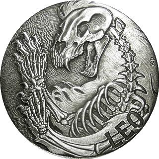 #11 SkullCoins 2015 ZODIAC Memento Mori Series 1oz SILVER Round SAGITTARIUS