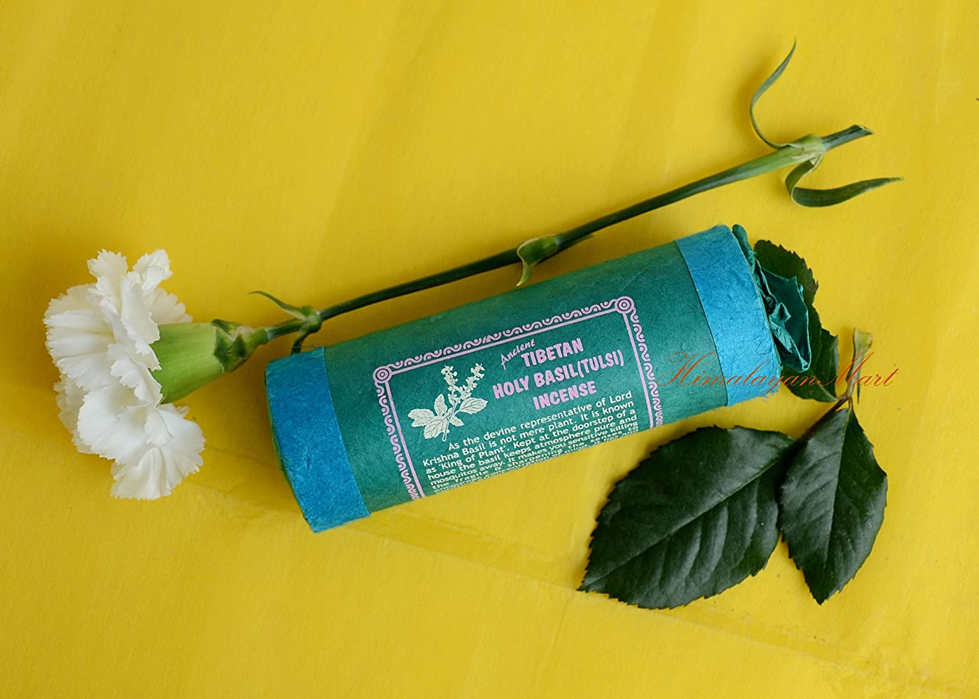 ゴミチャーターティーンエイジャー古代チベットHoly Basil ( Tulsi ) Incense?–?Natural herbal-handmadeからネパール