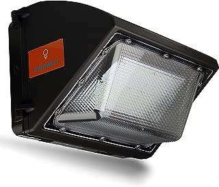 EverWatt High-Efficiency 400W Metal-Halide Equivalent, 60W LED Outdoor Wall Pack Light, 5000K Cool White, 7500 Lumens, 400 Waterproof, Easy Mount, Commercial/Industrial, UL & DLC