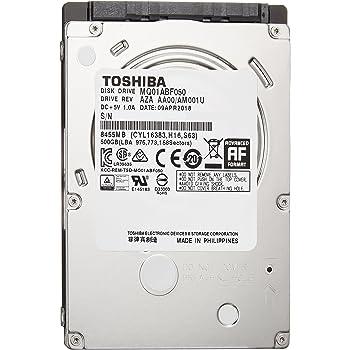東芝 MQ01ABF050 500GB アマゾン限定モデル 2年保証 SATA 6Gbps対応2.5型内蔵ハードディスク MQ01ABF050-2YW