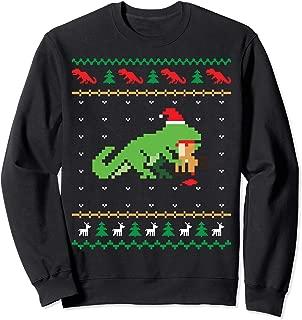 Best christmas sweater dinosaur eating reindeer Reviews