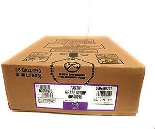 Fanta Grape 2.5 Gallon Bag in Box Soda Syrup