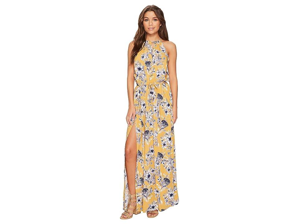 Rip Curl Lovely Day Maxi Dress (Mustard) Women