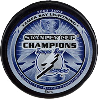 Tampa Bay Lightning Unsigned 2004 Stanley Cup Champions Logo Hockey Puck - Unsigned Pucks