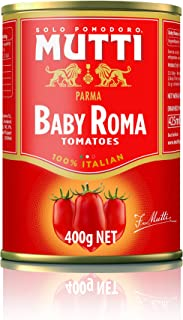 Mutti Baby Roma Tomatoes, 14 oz. Can, 12-Pack