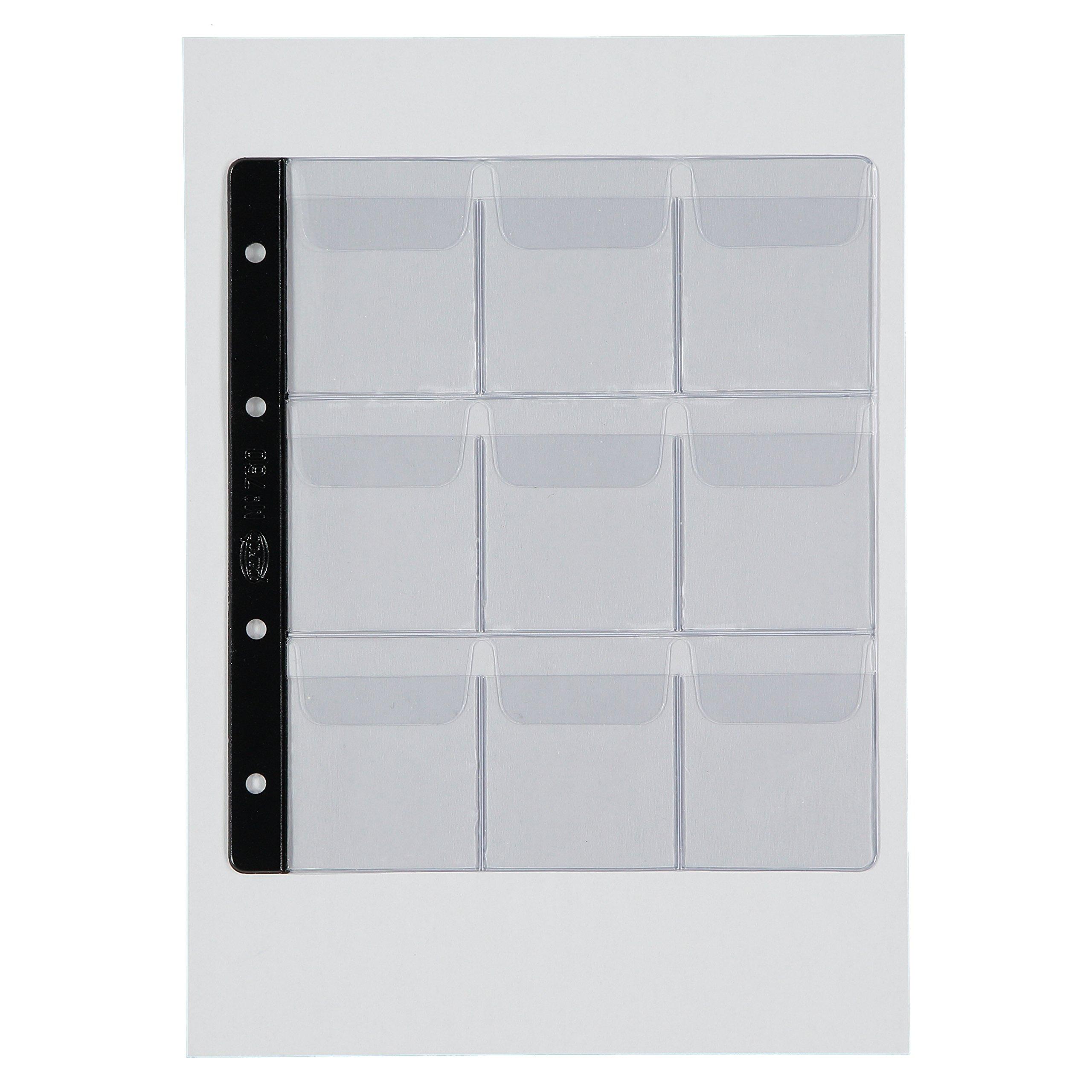 Pardo 76000 - Pack de 10 fundas, 9 alojamientos: Amazon.es: Oficina y papelería