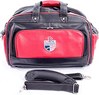 Boston Red Sox 2007 World Series Champion Deluxe Leather Duffel Bag