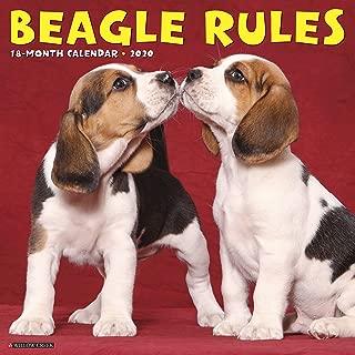 Beagle Rules 2020 Wall Calendar (Dog Breed Calendar)