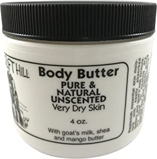 Windrift Hill Body Butter for Very Dry Skin (Unscented)