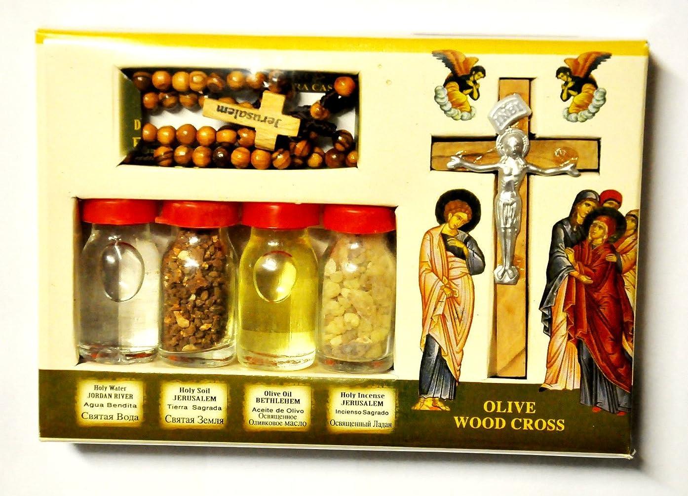 取るに足らないマーケティング見習いBlessingキットボトル&クロスからの聖地エルサレム