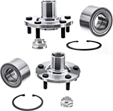 QJZ [2-Pack/Pair] 518508 Front Wheel Bearing and Hub Repair Kit for 1999-2003 Lexus RX300 AWD Models, 1992-2003 Toyota Camry 4 Cylinder Models, 1999-2003 Toyota Solara 4 Cylinder Models
