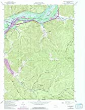 YellowMaps Red House NY topo map, 1:24000 Scale, 7.5 X 7.5 Minute, Historical, 1962, Updated 1991, 27 x 22 in