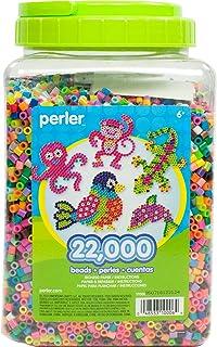 Perler Beads 22,000 Count Bead Jar Multi-Mix Colors 1 pack 17000