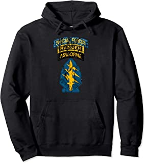 Special Forces Shirt - SF Ranger Tab Shirt - Distressed Pullover Hoodie