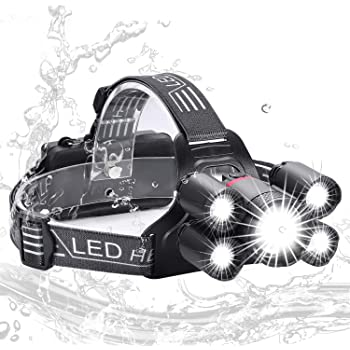Flux LED Headtorch 260 Lumens Lightweight Camping Hiking Headlamp Superbright