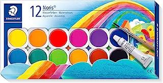 STAEDTLER 888 NC12 ST Vattenfärg, Blandade färger, Paket med 12
