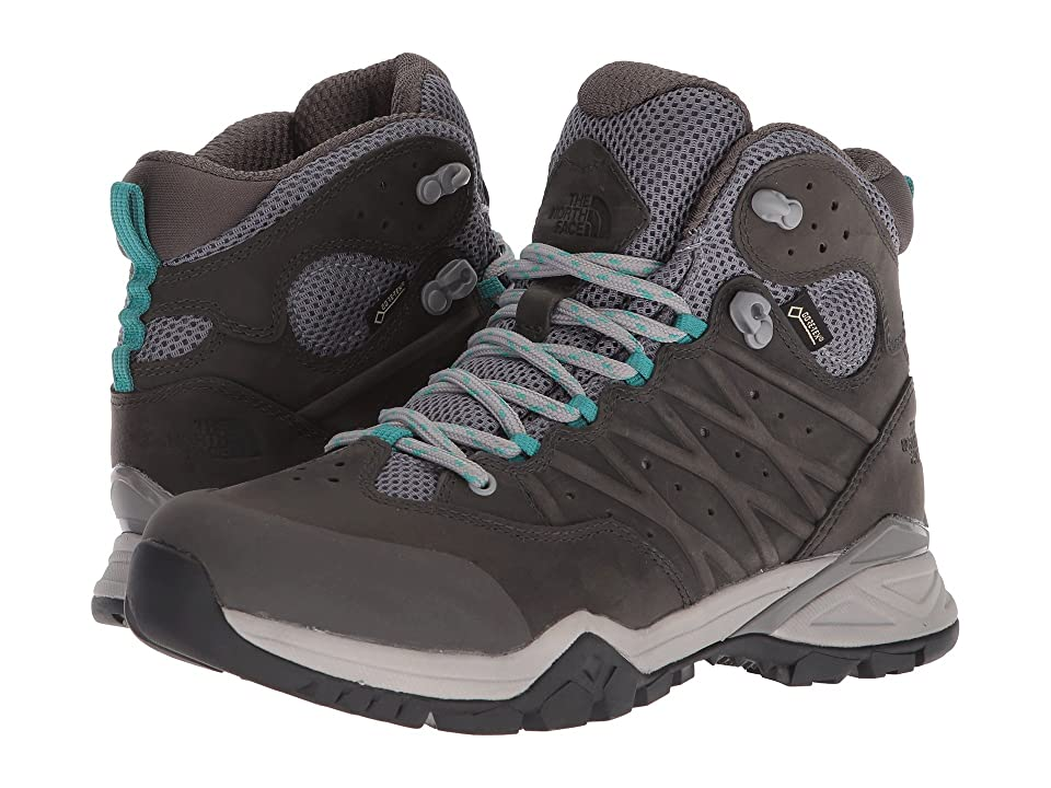 The North Face Hedgehog Hike II Mid GTX(r) (Q-Silver Grey/Porcelain Green) Women