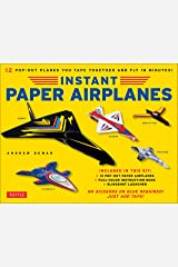 Instant Paper Airplanes Ebook: 12 Printable Airplanes You Tape Together and Fly! Kindle Edition