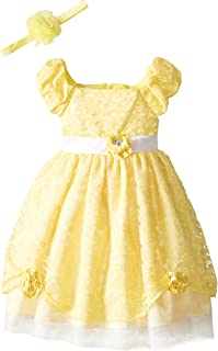 Disney Girls' Beauty and the Beast Princess Belle Role Play Dress