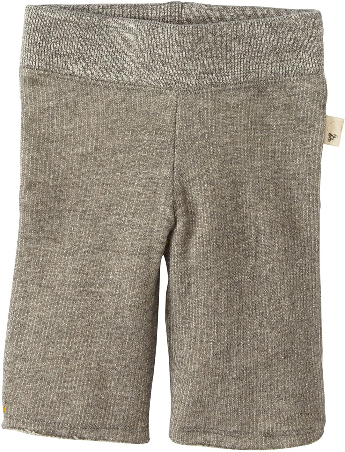 Burt's Bees Baby Baby Girls' Loose Terry Pant (Baby) - Heather Grey - 0-3 Months