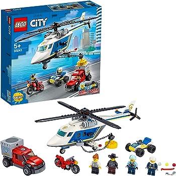 il gigante lego city police-quartier generale della polizia di montagna