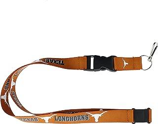 aminco Texas Longhorns NCAA Team Logo Lanyard (Orange)