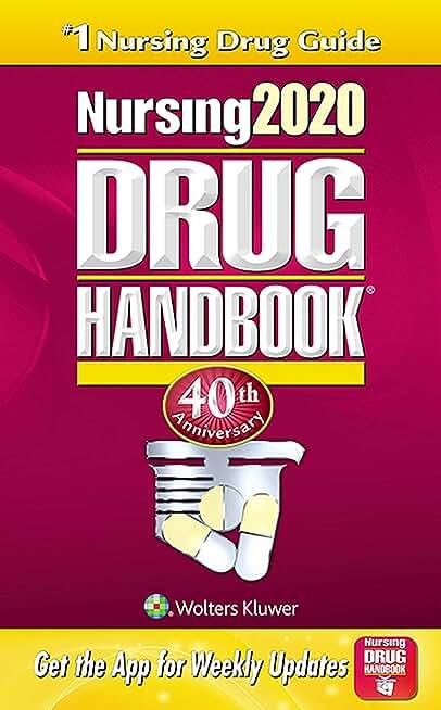 Nursing2020 Drug Handbook (English Edition)