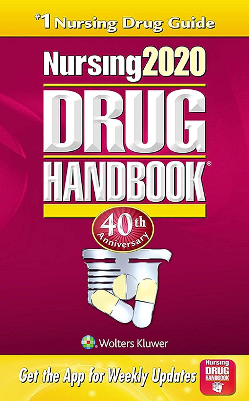 ペッカディロビリー不快なNursing2020 Drug Handbook (Nursing Drug Handbook) (English Edition)