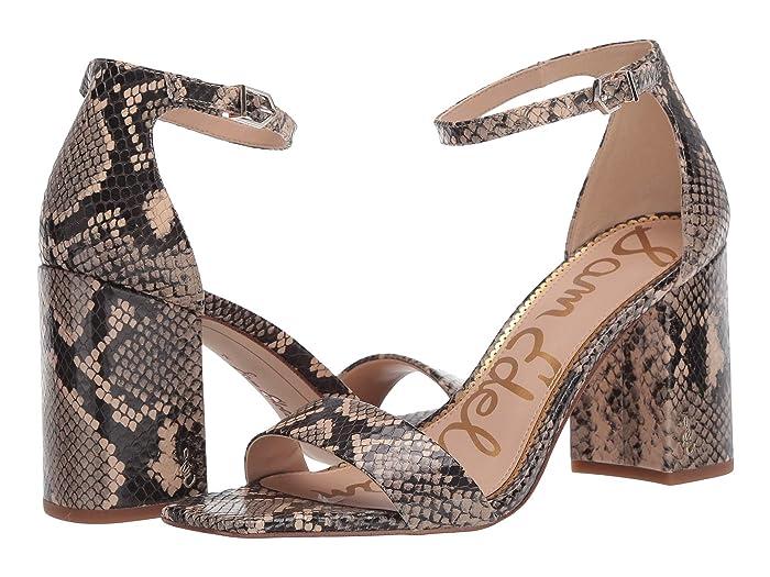 60s Shoes, Boots Sam Edelman Daniella Desert Multi Exotic Snake Print Leather Womens Shoes $119.95 AT vintagedancer.com