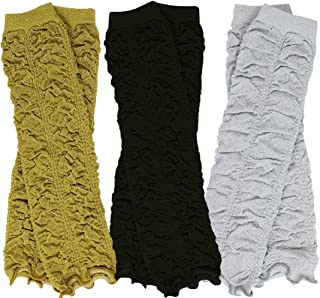 black and gold baby leg warmers
