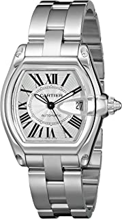 163939a15b2 Cartier Men s W62025V3 Roadster Stainless Steel Automatic Watch