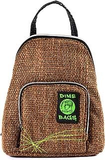 Original Hemp Backpack Stone Knapsack w//Smell Proof Pouch /& Secret Pocket