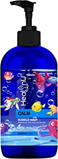 Healinu Calm Bubble Bath for Kids - Pure Essential Oil Blend - Provides a Relaxing and Unique Bathing Experience - Organic...