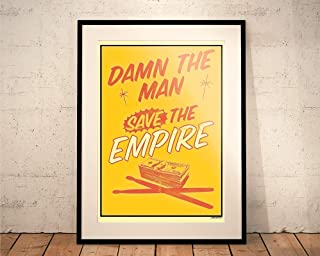 Empire Records. Limited Edition Print. 'Damn the Man, Save the Empire' (Prints/Posters)